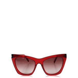 Oculos-Saint-Laurent-Acetato-Vermelho