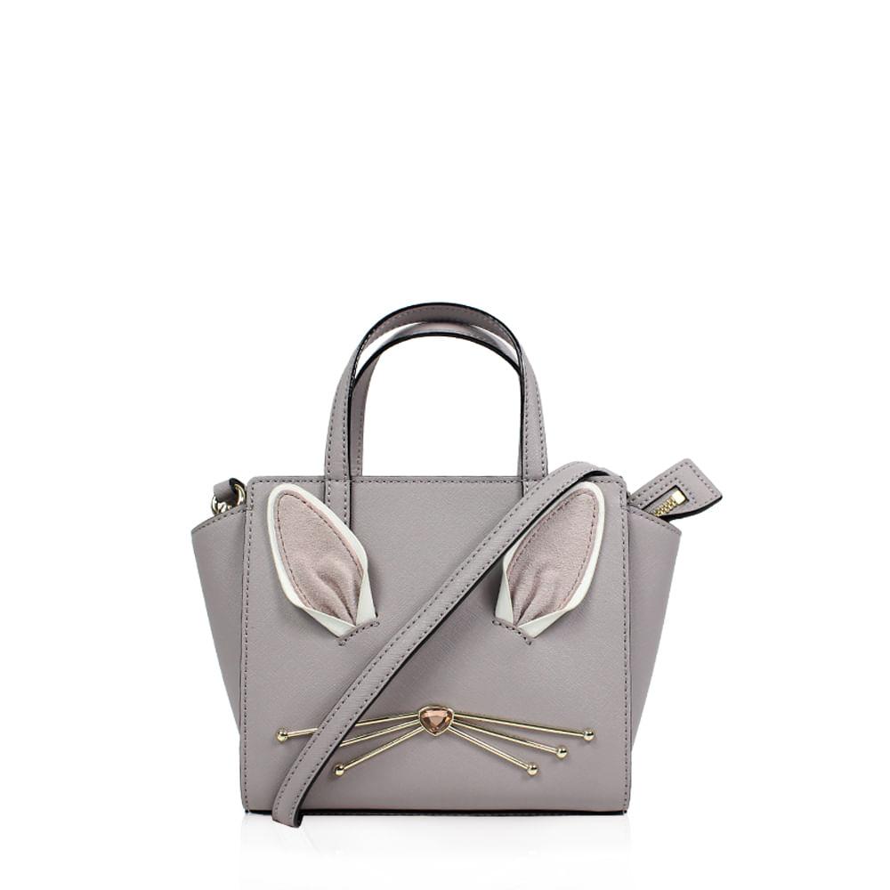 016d87b0598 Bolsa Kate Spade Rabbit Couro Lilás