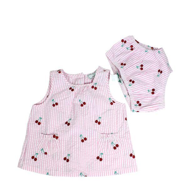 Vestido-Childrens-Wear-Cerejas-Rosa