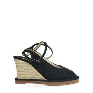 Sandalia-Plataforma-Bottega-Veneta-Intricciato-Preta