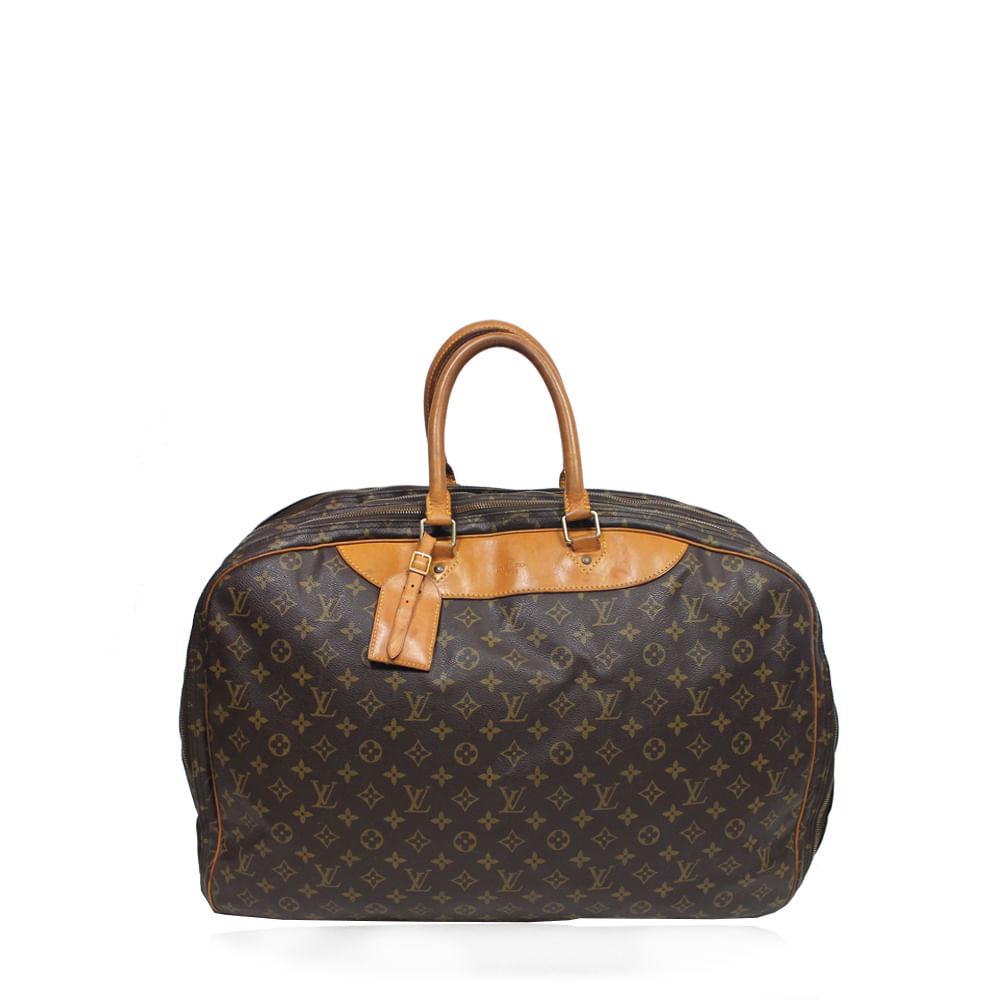 fb6fb4f3da7 Mala Louis Vuitton Alize 3 Poches Monograma