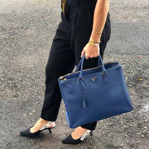 Bolsa-Prada-Galleria-Saffiano-Azul
