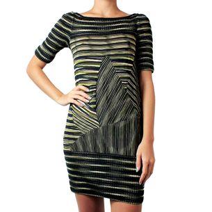 Vestido-Missoni-Verde-e-Preto