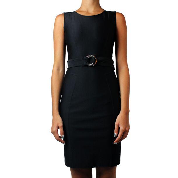 Vestido-Gucci-Tubinho-Neoprene-Preto