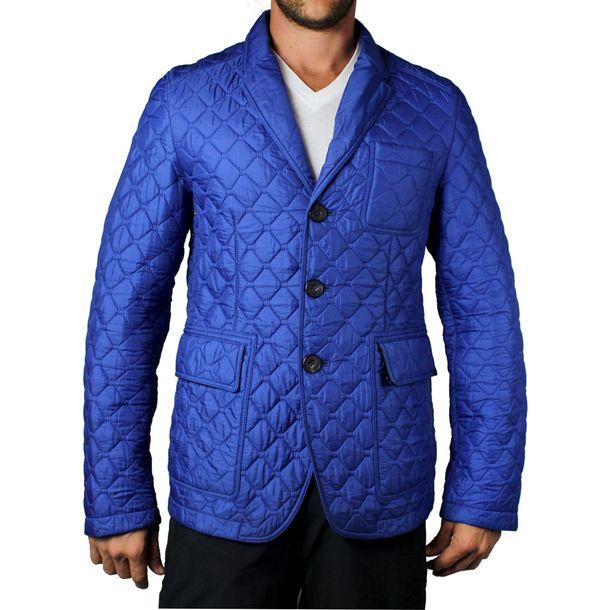 Casaco-Burberry-Matelasse-Azul