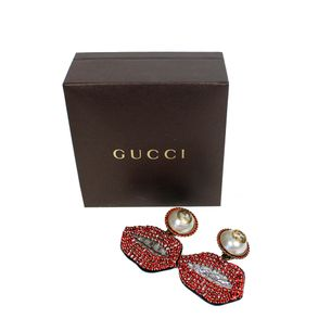 Brincos-Gucci-Womans-Natural-Cristal-Mouth