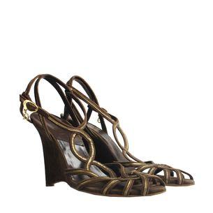 Sandalia-Christian-Dior-Marrom-e-Dourada