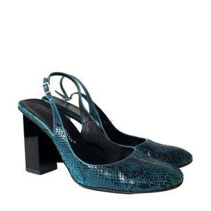 Sapato-Dolce_Gabbana-Python-Azul