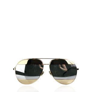 Oculos-Christian-Dior-Split-Dourado