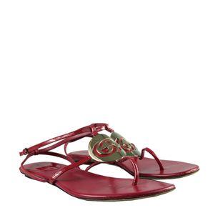 Rasteira-Gucci-Vermelha