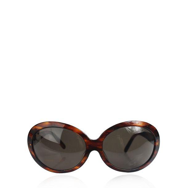 Oculos-Versace-Oval-Marrom