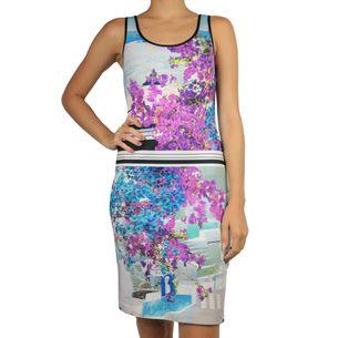 Vestido-Clover-Canyon-Curto-Estampado