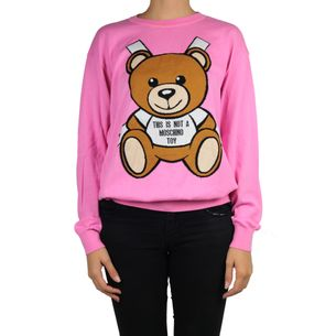 Blusa-Moschino-com-estampa-Sketch-Bear