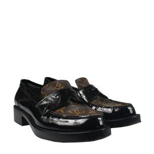 Sapato-Mocassim-Louis-Vuitton-Monograma