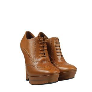 Ankle-Boot-Bottega-Veneta-Couro-Camelo