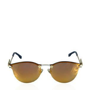 Oculos-Fendi-Espelhado-Dourado