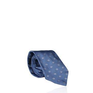 Gravata-Salvatore-Ferragamo-Estampa-Elefante-Azul