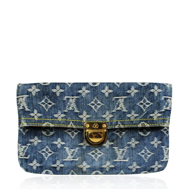 Clutch-Louis-Vuitton-Denim