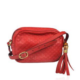 Bolsa-Gucci-Guccissima-Vermelha