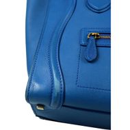 Bolsa-Celine-Luggage-Couro-Azul