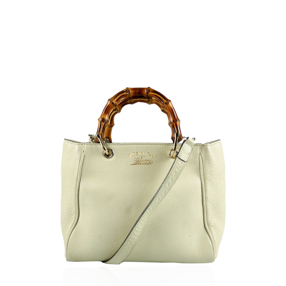 Mini-Bolsa-Gucci-Bamboo-Shopper-Branca