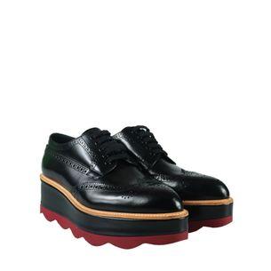 Sapato-Prada-Flatform-Couro