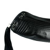 Bolsa-Chanel-Tassel-Couro-Preto-Vintage