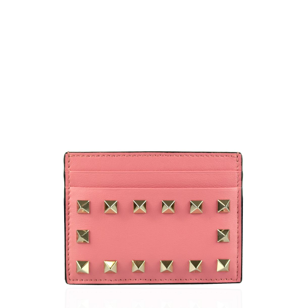 60957-Porta-Cartao-Valentino-Couro-Rosa-Rockstud