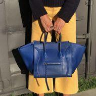Bolsa-Celine-Luggage-Phanton-Couro-Azul
