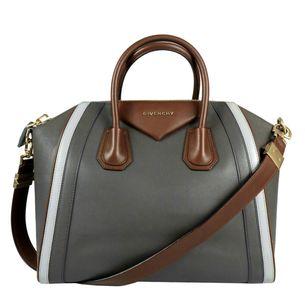 Bolsa-Givenchy-Antigona-Couro-Cinza
