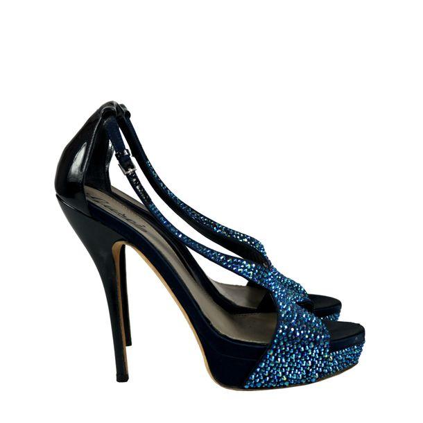 Sandalia-Gucci-Strass-Azul