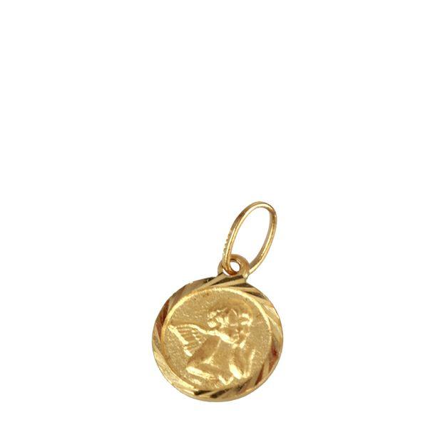 Medalha-Vivara-Anjo-Barroco-Ouro-Amarelo