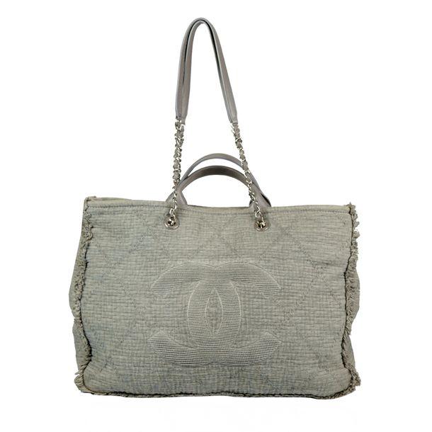 Bolsa-Chanel-Deauville-Cinza
