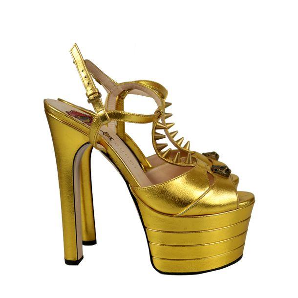 Sandalia-Gucci-Angel-Dourada