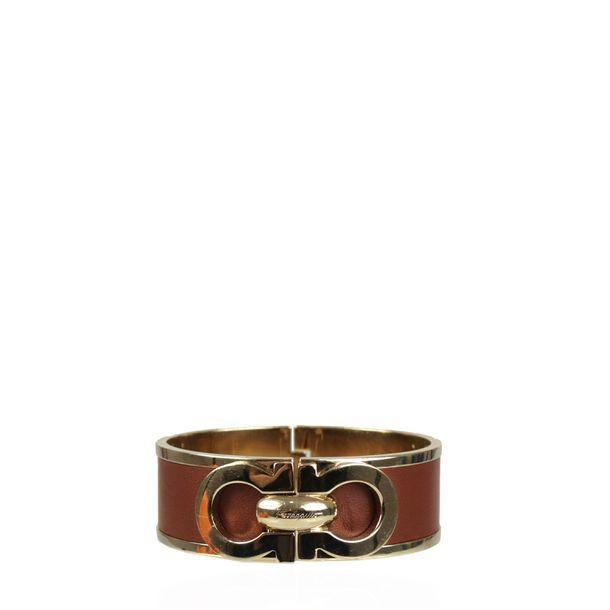 Bracelete-Salvatore-Ferragamo-Marrom