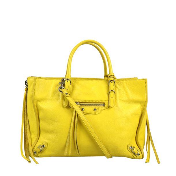 Bolsa-Balenciaga-Amarela