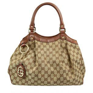 Bolsa-Gucci-Sukey-Jacquard-Pequena