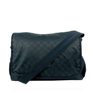 Bolsa-Gucci-Diaper-Monograma-Azul-Marinho