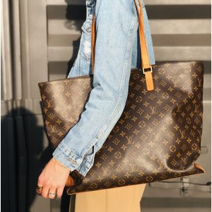 Bolsa-Louis-Vuitton-Cabas-Alto-Monograma