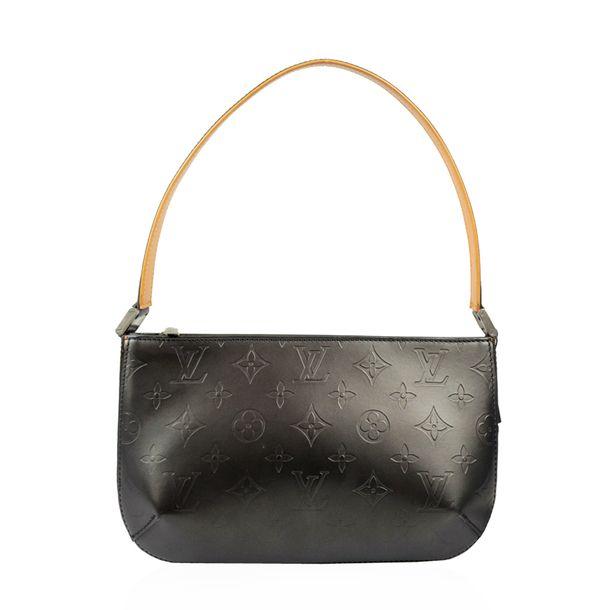 Bolsa-Louis-Vuitton-Couro-Cinza