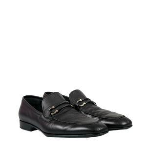 Sapato-Salvatore-Ferragamo-Couro-Preto