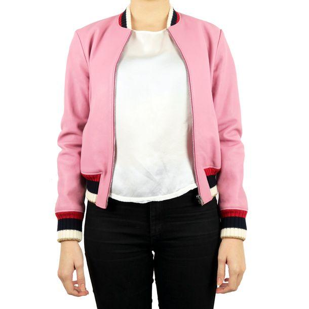 61117-Bomber-Jacket-Gucci-Couro-Rosa-1