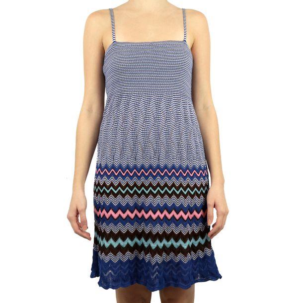 Vestido-M-Missoni-Azul-Bic