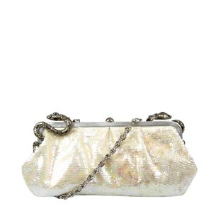 Clutch-Roberto-Cavalli-Paete-Off-White