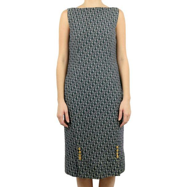 Vestido-Christian-Dior-Vintage-Denim