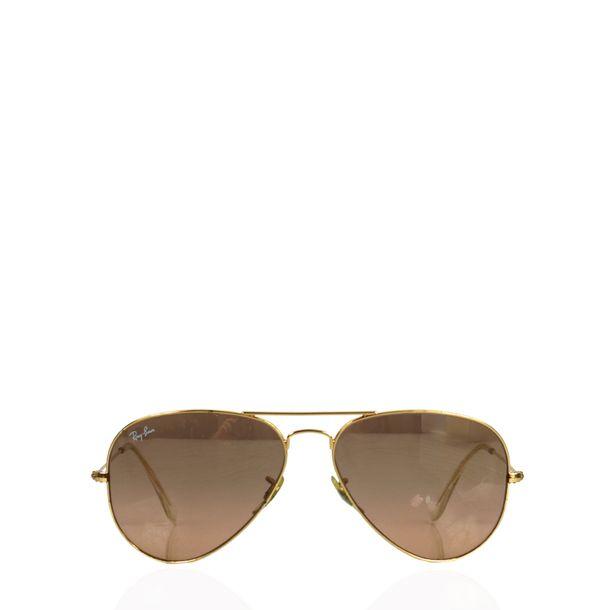 Oculos-Ray-Ban-Aviador-Dourado