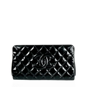 Clutch-Chanel-Verniz-Preto