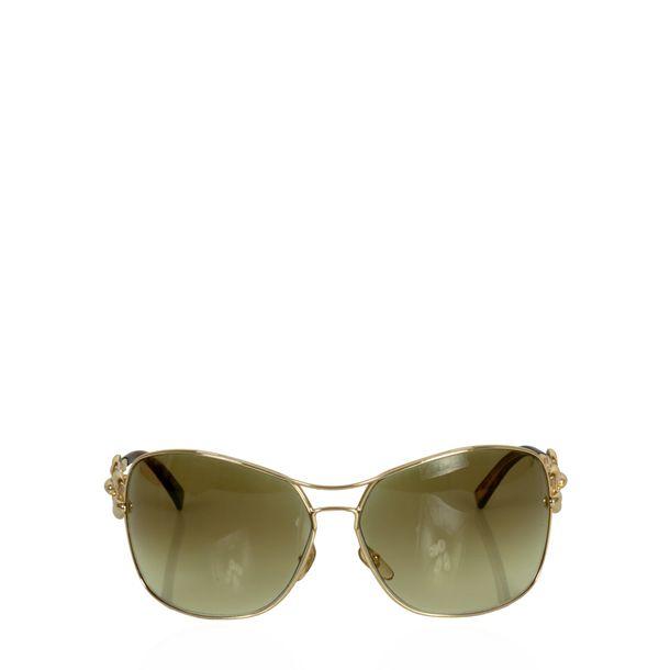 Oculos-Gucci-Chain-Marrom