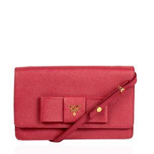 Bolsa-Prada-Lux-Bow-Saffiano-Vermelha