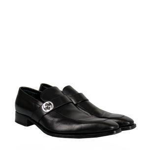 Sapato-Social-Gucci-Couro-Preto
